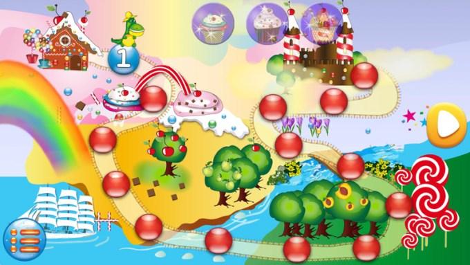 Cukierowo - screen z gry