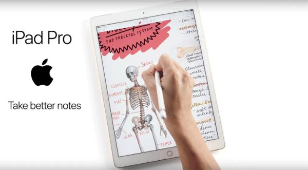 Dwie nowe reklamy iPada Pro z twitterowej kampanii