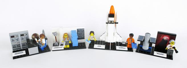 Klocki Lego z kobietami z NASA