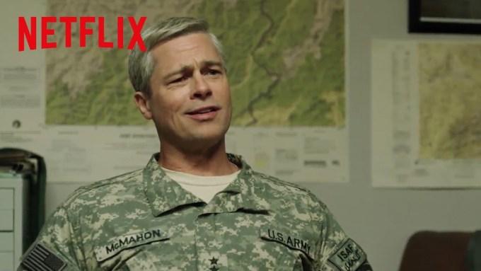Machina wojenna (Netflix) Brad Pitt