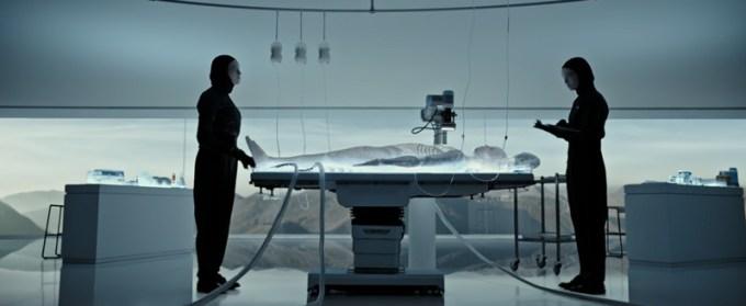 Meet Walter - ujęcie z wideo Alien: Covenant (Obcy: Przymierze)