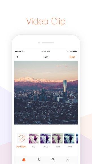 Screen aplikacji Musemage