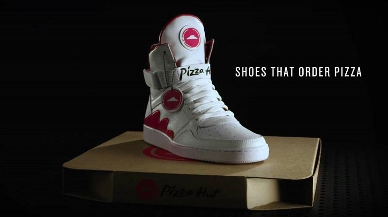 Pizza Hut PIE TOPS - trampki do zamawiania pizzy