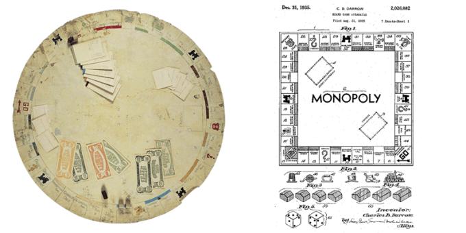 Pierwsza plansza gry Monopoly