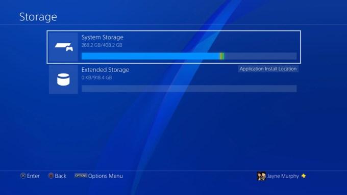 Zewnętrzny dysk twardy HDD w PS4 (update 4.50)