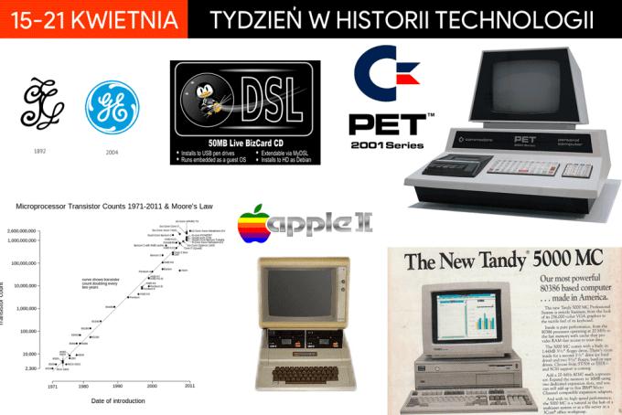 15-21 kwietnia - tydzień w historii technologii
