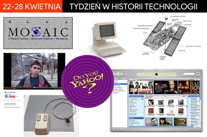 22-28 kwietnia - tydzień w historii technologii