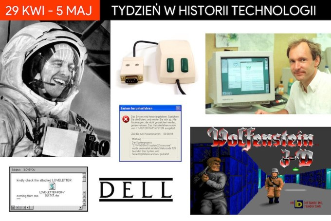 29 kwietnia-5 maja: tydzień w historii technologii