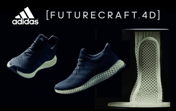 Adidas Futurecraft 4D to nowa era butów drukowanych w 3D