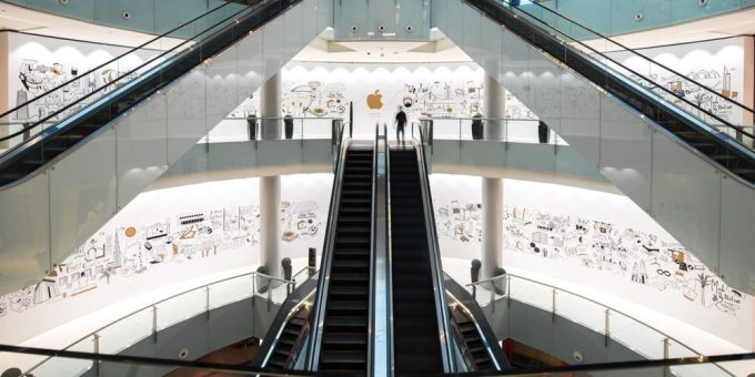 Apple Store Dubai Mall (zdjęcie)