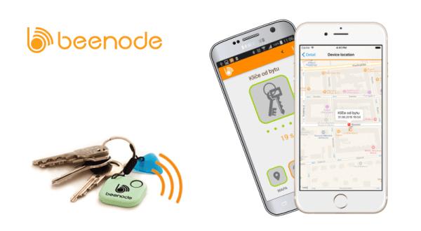 Dzięki Beenode znajdziesz swoje klucze, portfel i wiele więcej