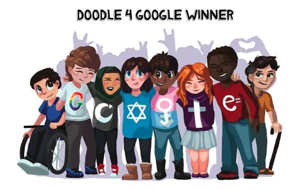 Zwycięzca i finaliści konkursu Doodle 4 Google 2017