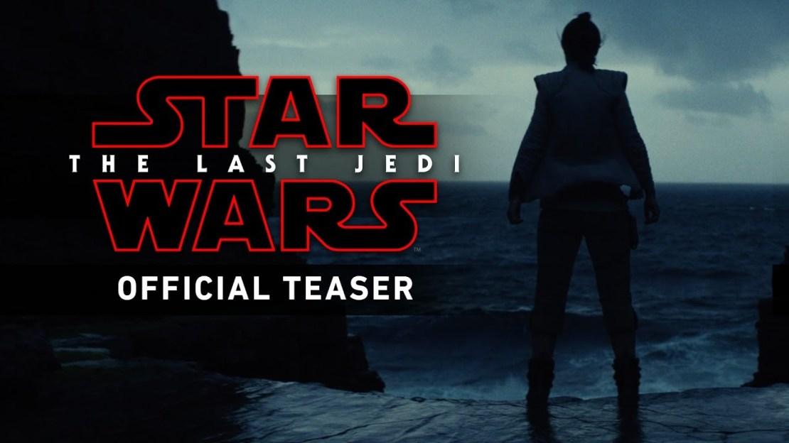 """Pierwszy zwiastun (trailer) filmu """"Gwiezdne Wojny: Ostatni Jedi"""" (Star Wars: The Last Jedi)"""