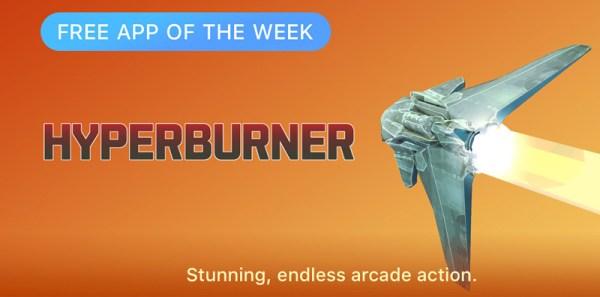 Hyperburner aplikacją tygodnia w App Storze