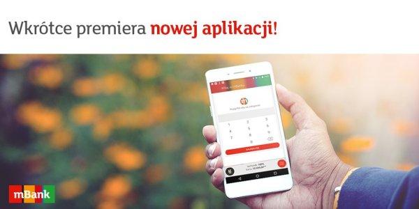 Nowa aplikacja mobilna mBank 3.0 pojawi się 12 kwietnia