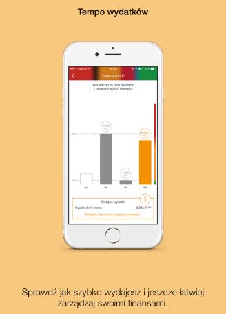 Screen aplikacji mBank 3.0
