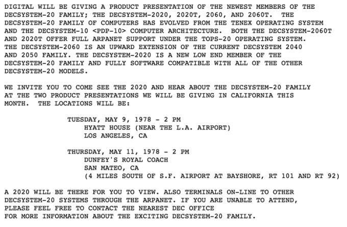 Pierwszy SPAM wysłany e-mailem w 1992 roku