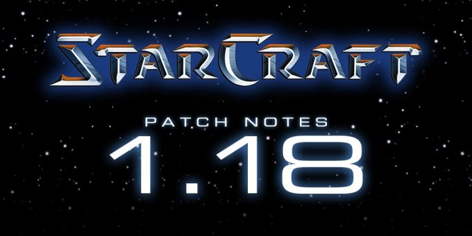 StarCraft 1.18 download free