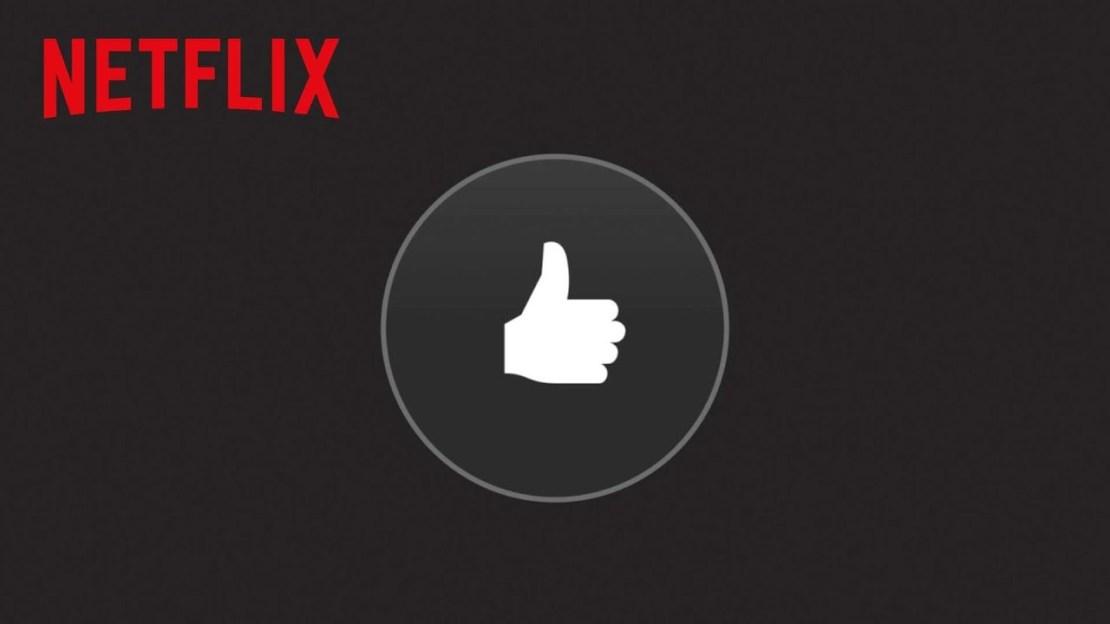 System ocen filmów w serwisie Netflix za pomocą kciuka