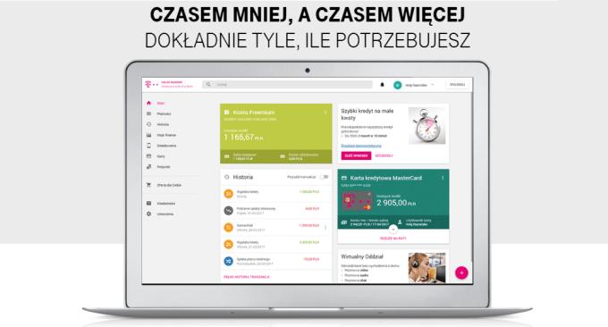 T-Mobile Usługi Bankowe - nowa bankowość internetowa