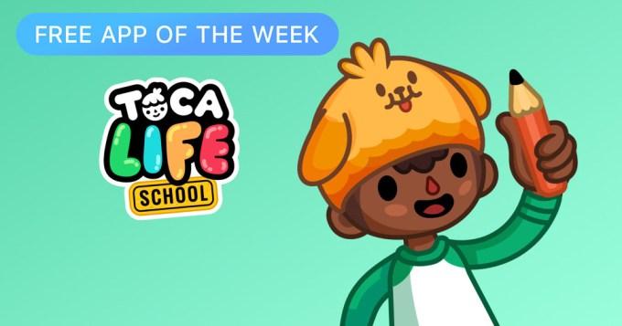 Toca Life: School (Free App of The Week)