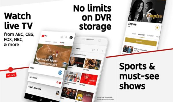 """Usługa """"YouTube TV"""" dostępna w 5 miastach USA"""