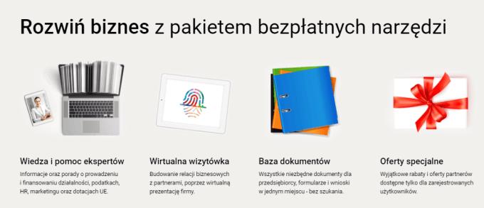 Pakiet usług online dla firm na zafirmowani.pl