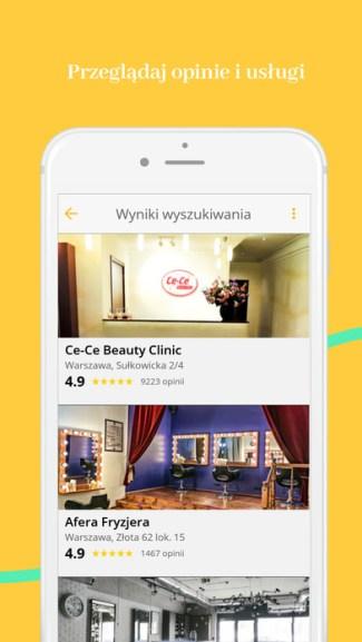 Aplikacja Moment.pl (screen)