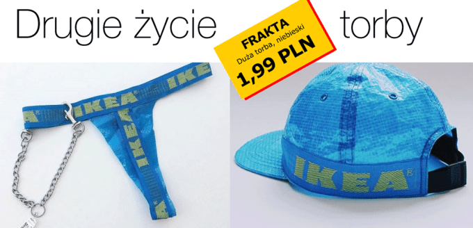 Drugie życie torby FRAKTA z IKEA - czyli co można z niej zrobić?