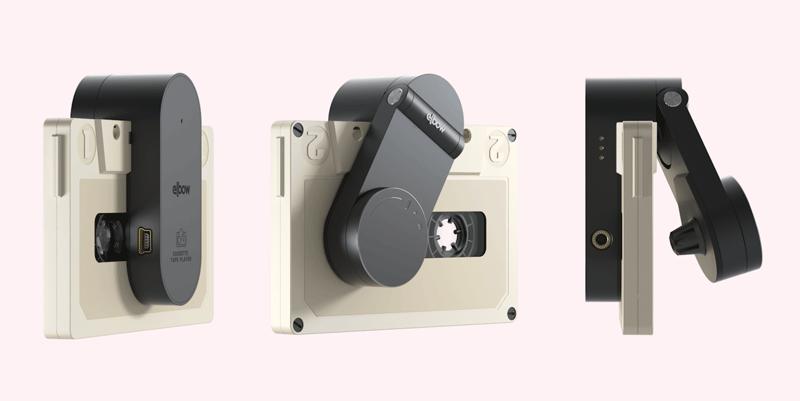 Miniaturowy odtwarzacz kaset magnetofonowych Elbow