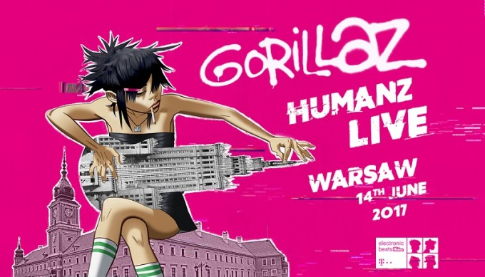 Gorillaz Humanz Live 360 stopni