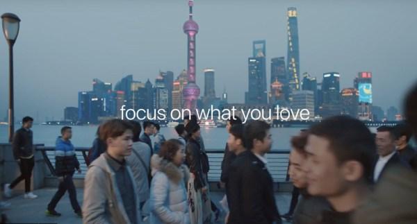 """Tryb portretowy iPhone'a 7 w reklamie """"The City"""""""