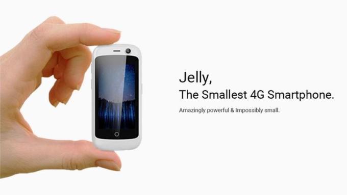 Jelly to najmniejszy smartfon na świecie z 4G