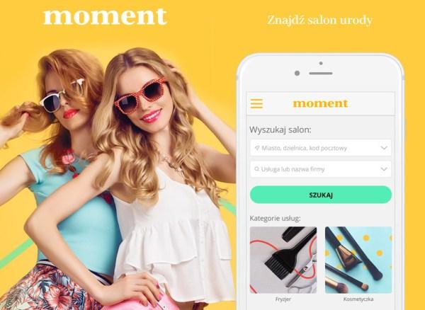 Rezerwuj wizyty online w aplikacji Moment.pl