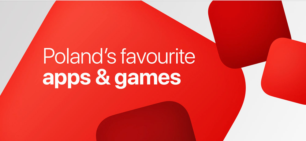 Poland's favourite apps&games (App Store)