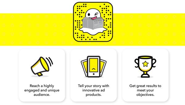 Snapchat Ad Manager do zarządzania reklamami