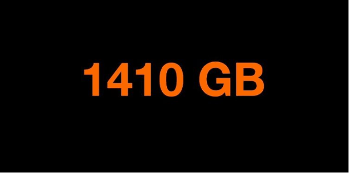 1410 GB w Orange Free na kartę