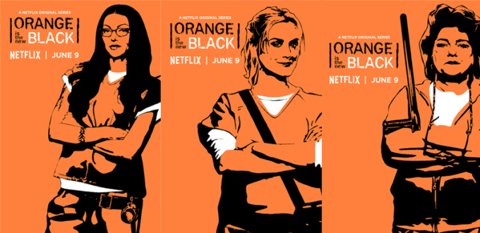 OITNB (Alex, Chapman, Red)