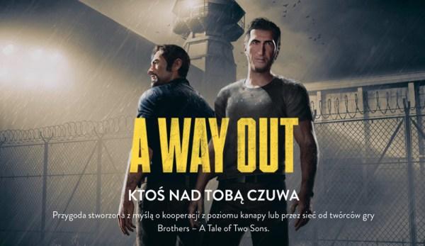 """""""A Way Out"""" to nowa 2-osobowa gra o ucieczce z więzienia"""