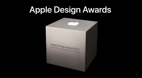 Ogłoszono zwycięzców Apple Design Awards 2017