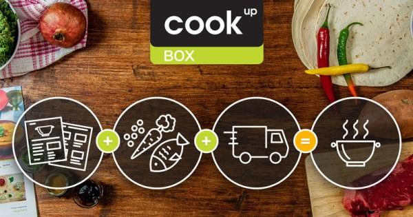 CookUp Box, czyli pudełko z produktami i przepisem na zamówienie