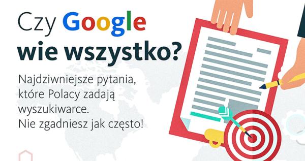 Najdziwniejsze zapytania Polaków w wyszukiwarce Google