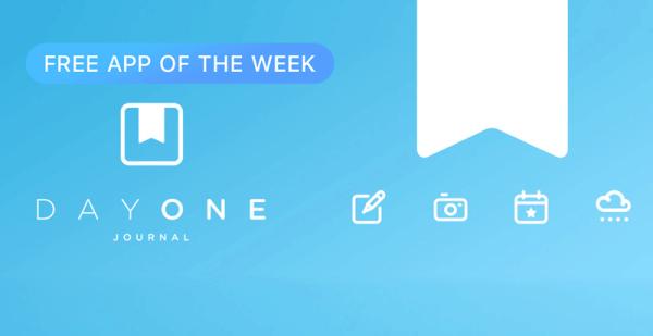 Day One Journal bezpłatną aplikacją tygodnia w App Storze