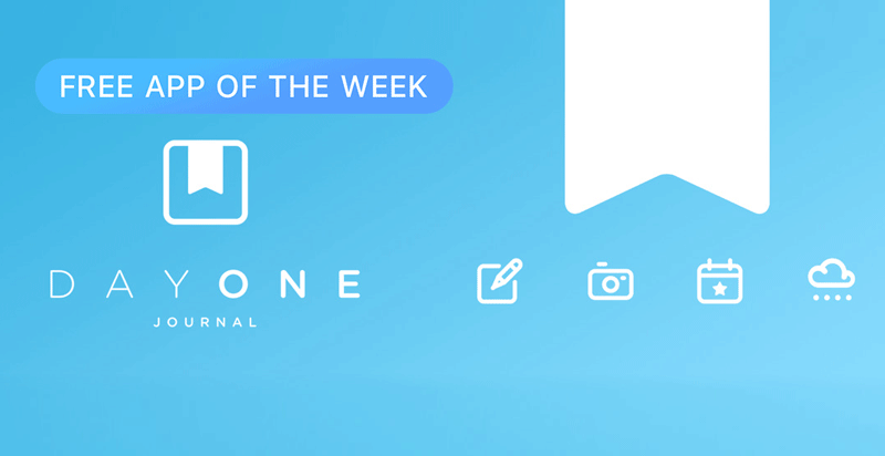Day One Journal - Free App of the Week