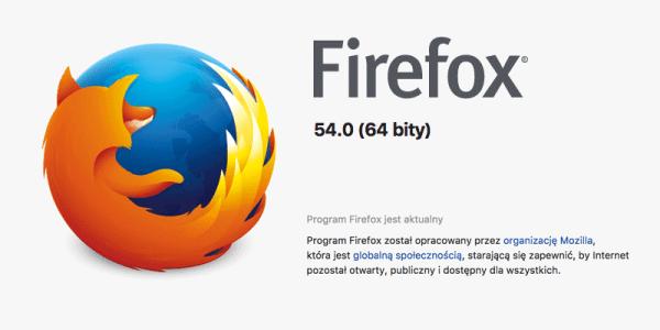 Szybszy Firefox 54 i wreszcie z wieloprocesowością