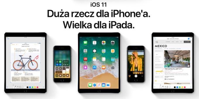 iOS 11 - pierwsza publiczna beta