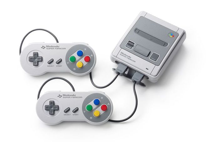 Konsola Nintendo Classic Mini Super Famicom