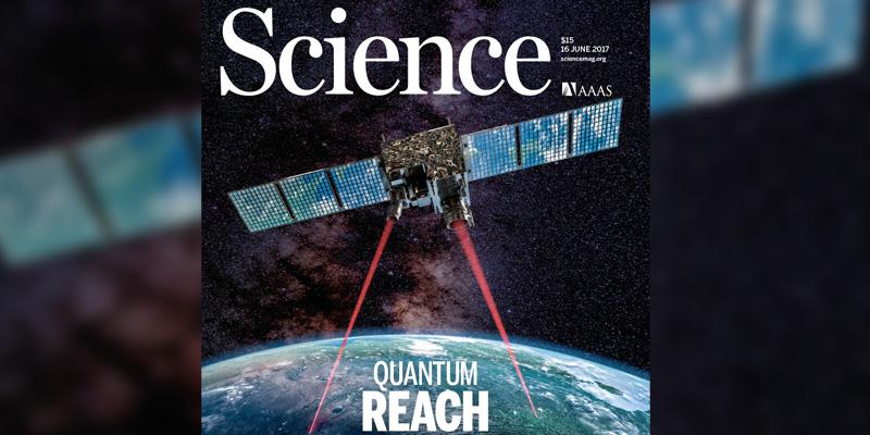 Pierwszy w historii satelitarny sygnał kwantowy - nie do podsłuchania