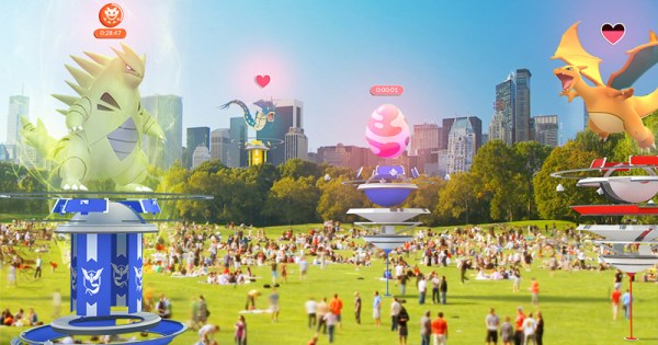 Pokemon Go z nowymi Gymami, funkcjami walk i raidami