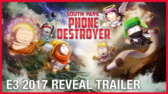 South Park: Phone Destroyer trailer